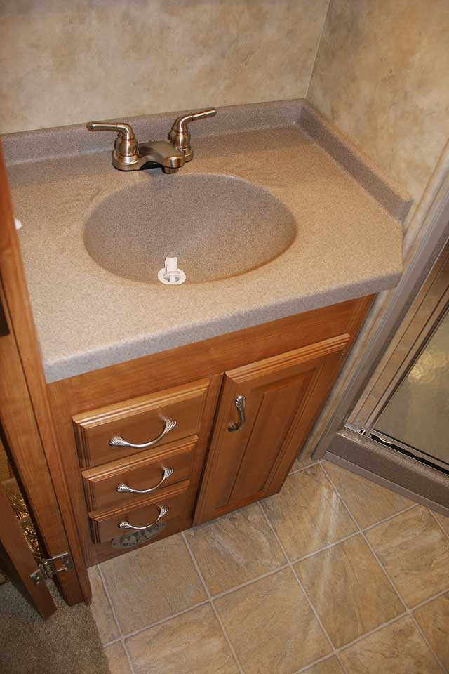 Bathroom Vanity Extended Over Toilet: NuWa Industries, Inc. HitchHiker LS Photos