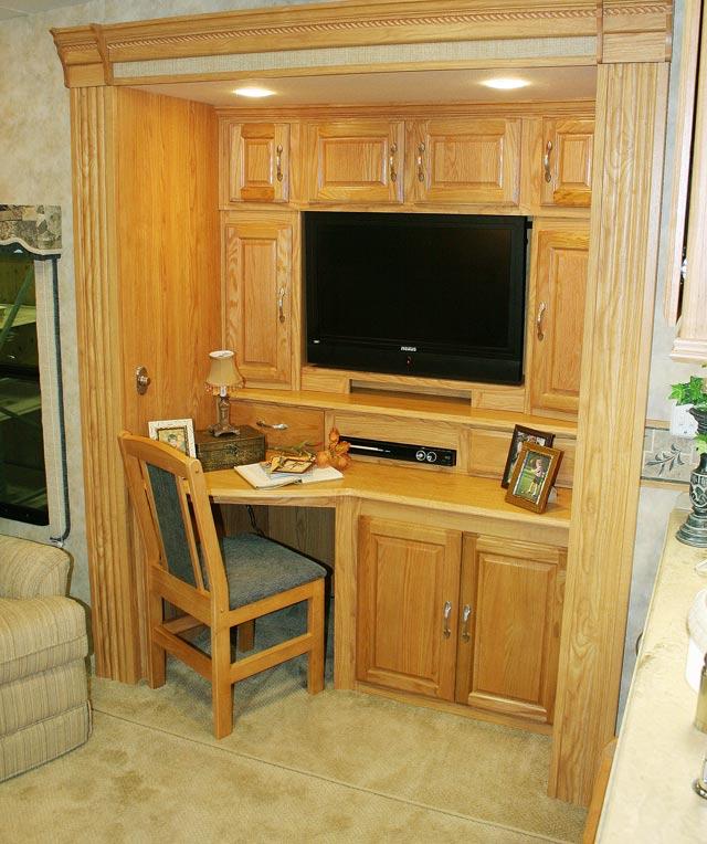 Desk Tv Combo